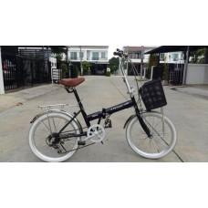 จักรยานพับญี่ปุ่น  มีเกียร์6สปีด ราคาส่ง