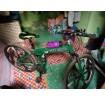 จักรยานพับได้สีเขียว