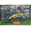 ราคาประหยัดสีสวยจักรยานพับ Winn Touch จุดพับแข็งแรง มาพร้อมชุดเกียร์ Shimano TourneyTz 7sp
