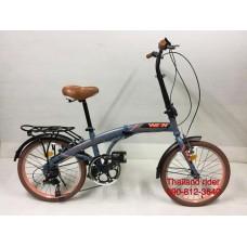 จักรยานใหม่พับได้20นิ้วWINN. chocolate 6สปีด